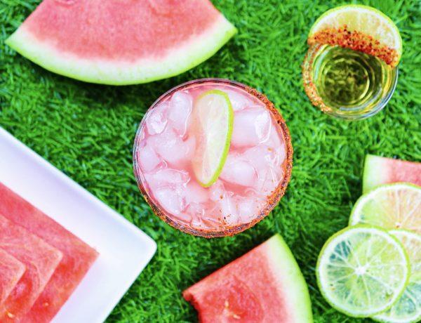 Spiked Watermelon Agua Fresca