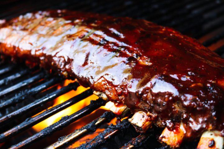 BBQ Pork Ribs with TexaCali Sauce